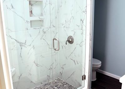 Tile and bathroom remodeling. Tips, tricks and overview of 4 projects.