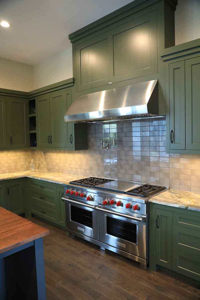 Image of: Subway Tile Kitchen Backsplash Bud Polley S Floor Center