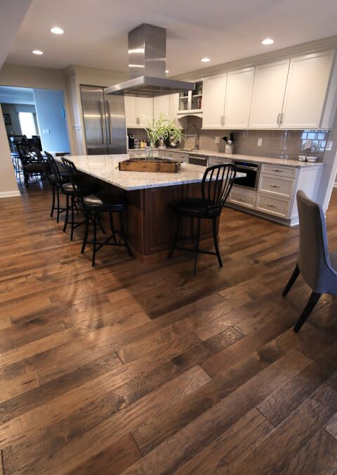 Gorgeous hardwood