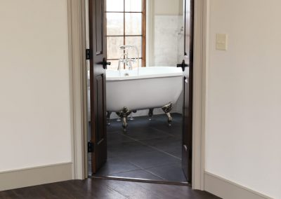 Classy bathtub for a master bathroom